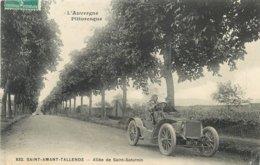 63 - ST AMANT TALLENDE - PUY DE DÔME - ALLEE DE ST SATURNIN - VOIR SCANS - France