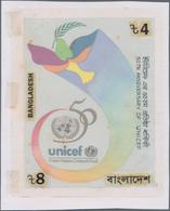 Bangladesch: 1998, ARTWORK, UNO-WORLD HABITAT DAY 98, Artist Unadopted Essay For The 4 T Value Hand - Bangladesch
