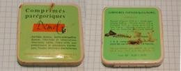 ☺♦♦ Ancienne Petite Boîte En Métal Pastilles Médicales ֎ PASTILLES DEMEL ֎ Pharmacie MELUN ֎ Médicament ( Boite Pleine ) - Boîtes