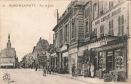 78 Maisons Laffitte Rue De Paris Boutique Commerces Commerces Magasin Grande Epicerie Centrale - Maisons-Laffitte
