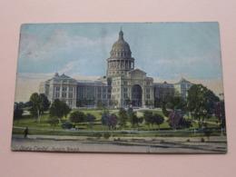 STATE CAPITOL ( Hugh G. Leighton ) Anno 19?? ( Zie/voir Photo ) ! - Austin