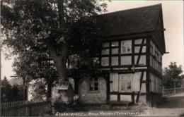 ! Alte Fotokarte, Photo, Gebhardsdorf, Haus Morche, Tetzelhaus, Giebultow, Niederschlesien, 1932 - Schlesien