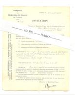 FLERON 1935 - Procès-verbal à L'encontre D'un Mineur De Soumagne Qui Roulait En Vélo La Nuit Sans éclairage (b266) - Vieux Papiers