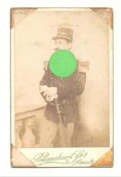 Photo Sur Carton (grand Modèle ) D'un Militaire ( Lt ? ) Du 11e De Ligne - Hasselt +/- 191...? (b266) - Guerre, Militaire