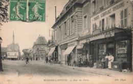 78 Maisons Laffitte Rue De Paris Magasin Boutique Commerce Grande Epicerie Centrale Enfants Pot à Lait - Maisons-Laffitte
