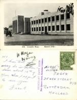 Pakistan, KARACHI, Assembly House (1950s) Merchant Navy Club RPPC - Pakistan