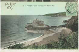CC - CPA - ROYAUME UNI - JERSEY - Coast Scenary Near Bouley Bay - - Jersey