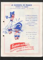 (jouets) Paris 20e: Rue Des Pyrénées: Catalogue LE GUIGNOL DE FRANCE  1956 (CAT 1525) - Pubblicitari