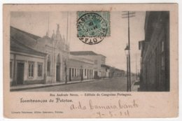 BRASIL LEMBRANCA DE PELOTAS  RUE ANDRADE NEVES Edificio Do Congresso Portuguez - Porto Alegre