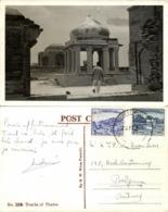 Pakistan, THATTA, Makli Necropolis Tombs (1964) M.W. Mirza No. 25B RPPC Postcard - Pakistan