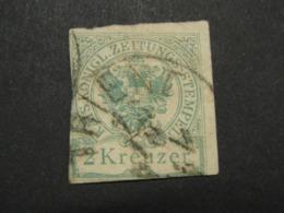 RDB.Ti.10.7. Timbre Taxe  De 2 Kreuzer - Newspapers