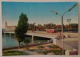 PLOVDIV - Bulgaria - Bridge On The River Maritza  - Bus -  Nv - Bulgaria