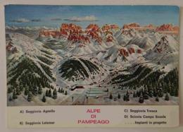 TESERO (TRENTO) - ALPE DI PAMPEAGO - Dolomiti Di Fiemme - Seggiovia -  Vg TA2 - Trento