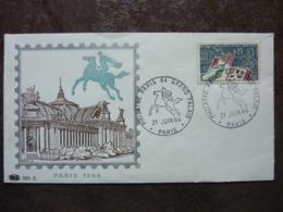 1964 PHILATEC PARIS GRAND PALAIS Y&T= 1403 - FDC