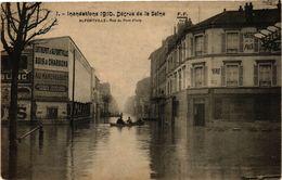 CPA ALFORTVILLE - Rue Du Pont D'IVRY (275270) - Alfortville