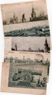 MOSCOU-1900--LOT DE 62 CARTES- - Russia