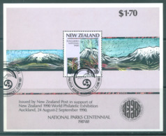 NEW ZEALAND - USED/OBLIT. - 1987 - NATIONAL PARKS - Yv BLOC 57 Mi Bl 13 SG MS1432 Sc 879a - Lot 20580 - Blocs-feuillets