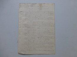 Napoléon Vendée 1866, Cie Chemin De Fer De Vendée Vs Ernest Schilling, Mécano Locomotive UNIQUE, Ref 819 ; PAP09 - Historische Dokumente