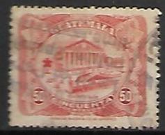 GUATEMALA      -   1924 .  Y&T N° 208 Oblitéré .    Théatre  Colon - Guatemala
