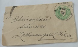 British India 1/2Anna  King Edward  Postcard.. - India (...-1947)