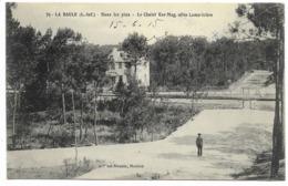 44-LA BAULE-Dans Les Pins Chalet KER-MAG, Allée Lamoricière Verso HOPITAL AUXILIAIRE De LA BAULE...1915 - La Baule-Escoublac