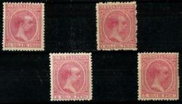 Cuba Española Nº 130/33 Nuevos. Cat,8€ - Cuba (1874-1898)