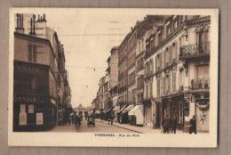 CPA 94 - VINCENNES - Rue Du Midi - TB PLAN Petite Rue CENTRE VILLE Très Jolie ANIMATION ANIMATIO?N MAGASINS - Vincennes