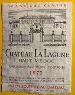 12013 - Château La Lagune 1977 Haut-Médoc - Bordeaux