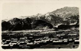 Pakistan, LANDI KOTAL, Snow View (1920s) RPPC Postcard - Pakistan