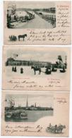 ST PETERSBOURG-1901-LOT DE 10 CARTES - Russia