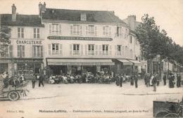 78 Maisons Laffitte Etablissements Cojean Hotel Du Soleil D' Or Café Restaurant Avenue Longueil Face Parc Edit Milly - Maisons-Laffitte