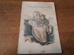 Postcard - Humour, Passenger Car      (28394) - Passenger Cars
