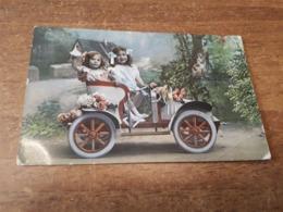 Postcard - Humour, Passenger Car      (28395) - Passenger Cars