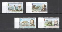 W526 2009 ASCENSION ISLAND BIRDS REPTILES DARWIN #1090-3 MICHEL 13 EURO SET MNH - Timbres