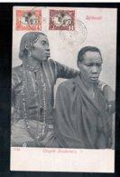 DJIBOUTI Couple Soudanais 1906 Old Postcard - Gibuti