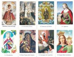 LOTTO N° 41 COMPOSTO DA 8 SANTINI O IMMAGINI RELIGIOSE DIVERSI SUL RETRO LE VARIE PREGHIERE - Religion & Esotericism
