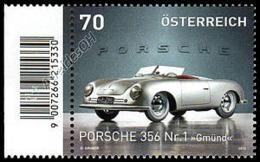 Austria 2013: Porsche 356 Con Codice A Barre / With Barcode ** - Cars