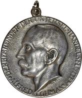 Medaillen Deutschland - Personen: LOHMANN, ALFRED; 1916 (ca.), Guterhaltene Silbermedaille Mit Anhän - Deutschland