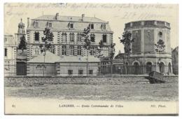 52-LANGRES-Ecole De Jeunes Filles...1915   (légende En Bas) - Langres