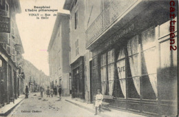 VINAY RUE DE LA HALLE CAFE GONDRAND 38 - Vinay