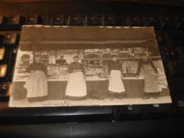CARTE PHOTO LAGNY MARCHAND FORAIN   PAIN D EPICES SIGAUT  ET DE CONFISERIES 1910 - Lagny Sur Marne