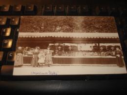 CARTE PHOTO LAGNY MARCHAND FORAIN   PAIN D EPICES SIGAUT  ET DE CONFISERIES 1910 N*2 - Lagny Sur Marne