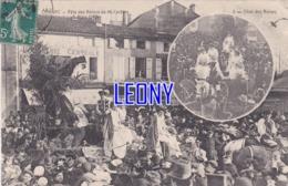 CPA De COGNAC (16) -  FÊTE Des REINES De MI-CARÊME (6 MARS 1910 ) - CHAR Des REINES N° 5 - - Cognac