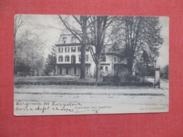 Chestnut Hill Hospital     Ref 3680 - Postcards
