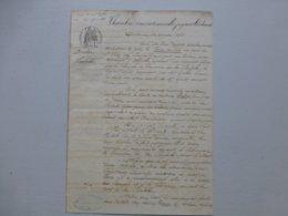 LA ROCHELLE MARINE 1866  Bateau Reine Du Ciel (St Valéry-sur-Somme) Vs Brick AUTRICHE Unico, Ref 814  ; PAP09 - Documents Historiques