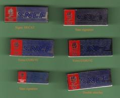 SNCF *** Lot De 6 Pin's Differents *** 1065 - TGV