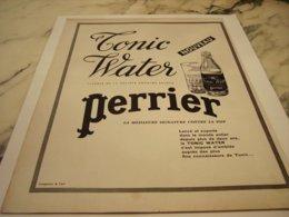 ANCIENNE PUBLICITE TONIC WALTER DE PERRIER  1960 - Posters