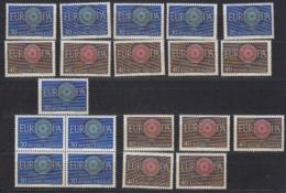 Europa Cept 1960 Finland 2v (10x) ** Mnh (44939) Promotion - 1960