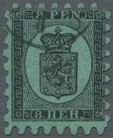 Finnland: 1860-2004, Hauptsächlich Gestempelte Sammlung In Vier Alben Ab Mi.-Nr. 3 Mit über 30 Zunge - Finland