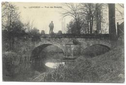 52-LANGRES-Pont Des Romains...1914  Animé - Langres